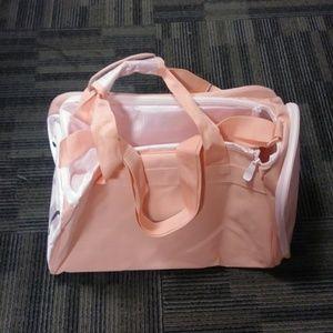 pink puma gym bag